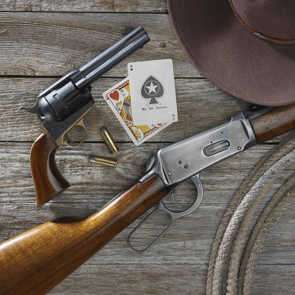 Rifles Photograph - Tools Of The Trade by Jerry McElroy