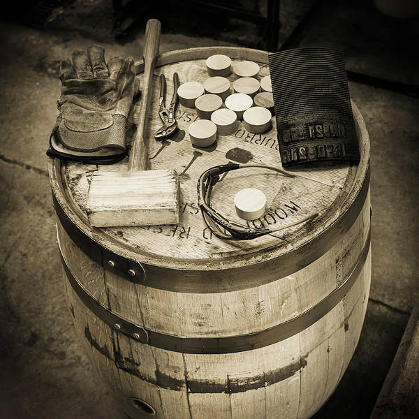 Distillery Photograph - Tools Of The Trade by Karen Varnas