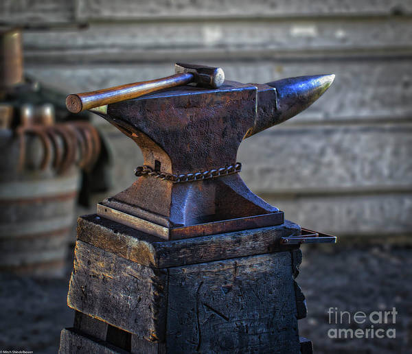 Farrier Photograph - Tools Of The Trade by Mitch Shindelbower