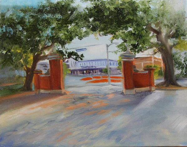 Toomer Wall Art - Painting - Toomer's Corner by Jill Holt