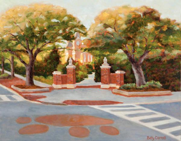 Toomer Wall Art - Painting - Toomer's Trees by Betty Carroll