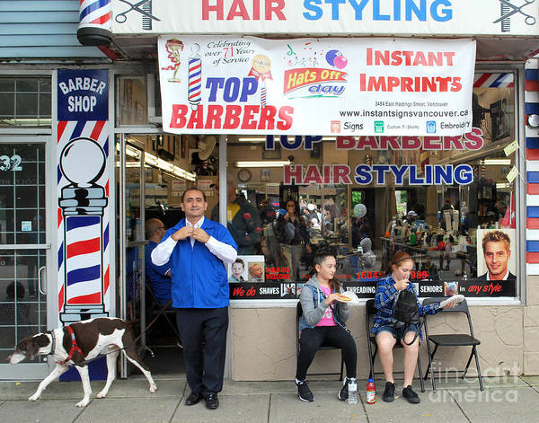 Photograph - Top Barbers by Bill Thomson