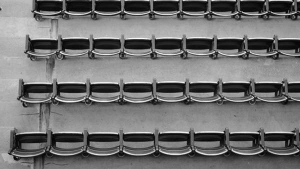 Hotlanta Photograph - Top Down Seats Atlanta Braves by Luke Pickard