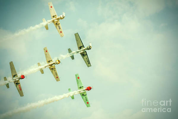In Flight Photograph - Top Gun Part Two by Erik Brede