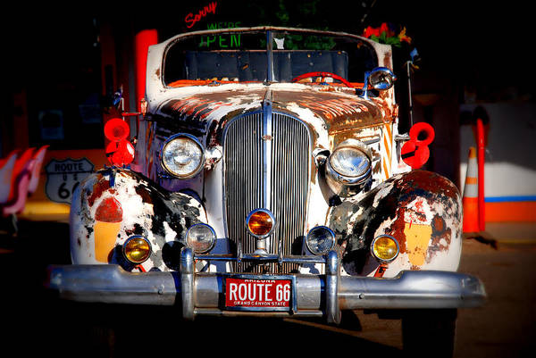 Photograph - Top Model On Route 66 by Susanne Van Hulst