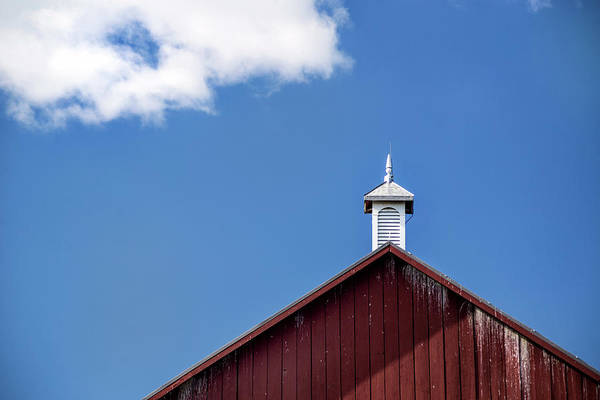 Photograph - Top Of A Barn by Don Johnson