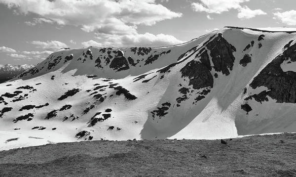 Photograph - Top Of Beartooth Highway Black And White by Dan Sproul