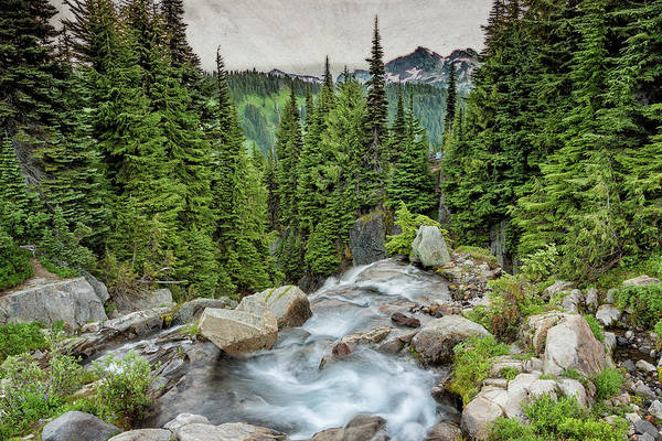 Photograph - Top Of Myrtle Falls by Belinda Greb