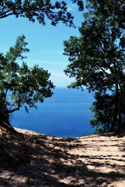 Wall Art - Photograph - Top Of The Dune At Sleeping Bear Ll by Michelle Calkins