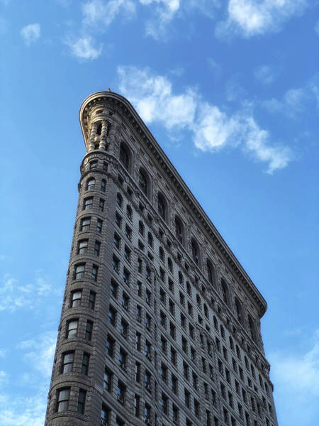 Photograph - Top Of The Flat Iron by Cate Franklyn