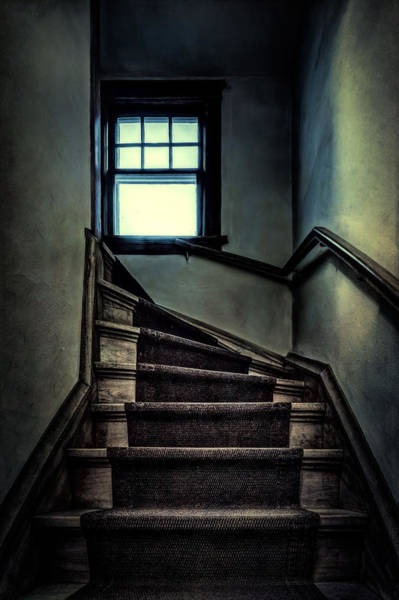 Indoors Photograph - Top Of The Stairs by Scott Norris