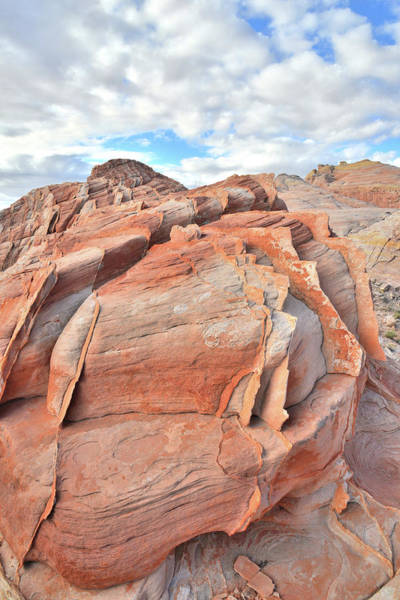 Photograph - Top Of The World At Valley Of Fire by Ray Mathis