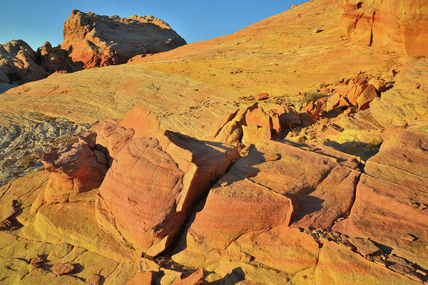 Photograph - Top Of The World In Valley Of Fire At Sunrise by Ray Mathis