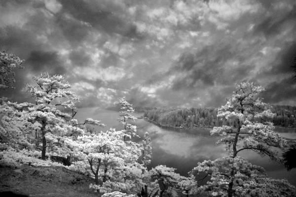 Loftus Photograph - Top Of Tip Toe Mountain, Vinalhaven, Maine by Michele A Loftus