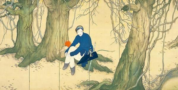 Wall Art - Painting - Top Quality Art - Mulan #1 by Hashimoto Kansetsu