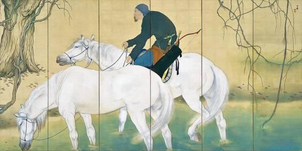 Wall Art - Painting - Top Quality Art - Mulan #2 by Hashimoto Kansetsu