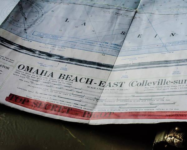 Photograph - Top Secret - Omaha Beach by Chris Coffee