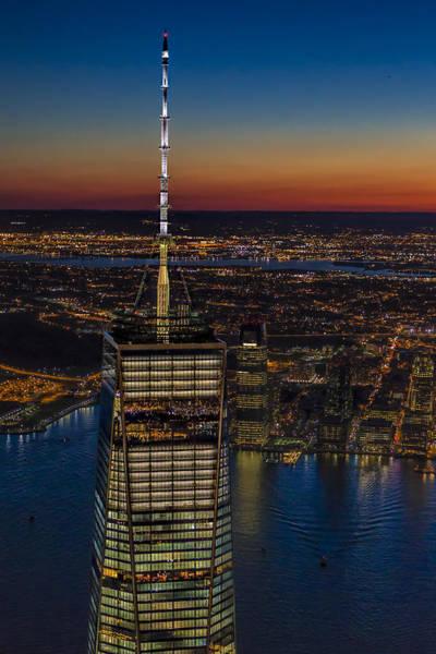 Photograph - Top The World Trade Center Nyc by Susan Candelario