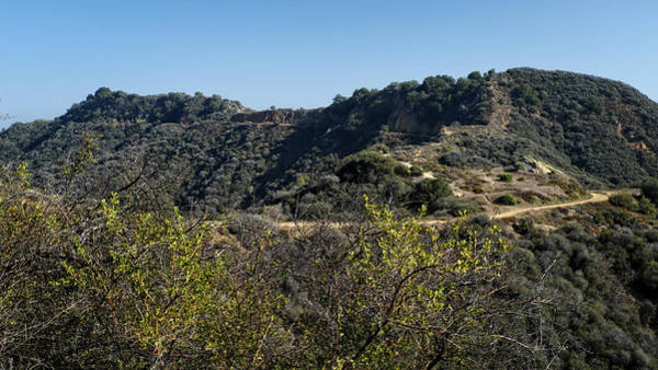 Photograph - Topanga Canyon Trail by George Taylor