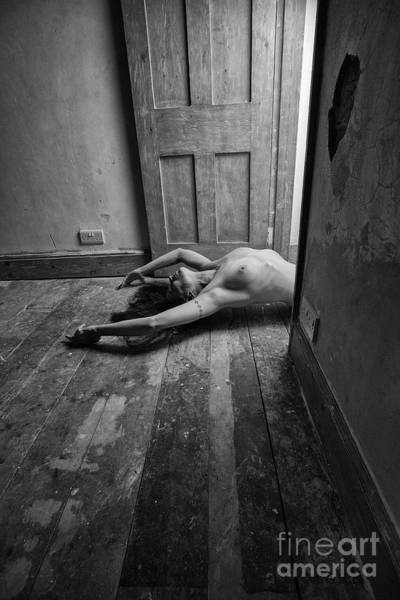 Photograph - Topless Woman In Doorway by Clayton Bastiani