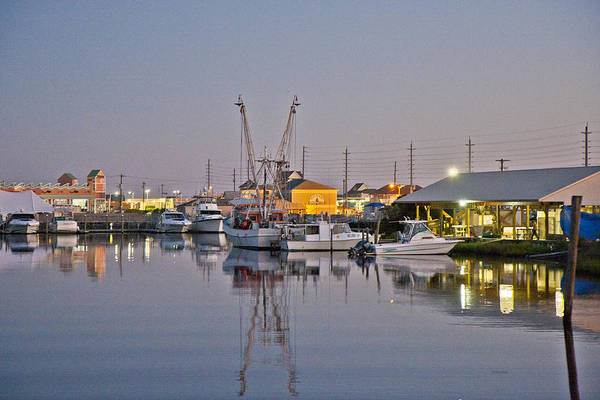 North Coast Harbor Photograph - Topsail Island Nc Sound by Betsy Knapp