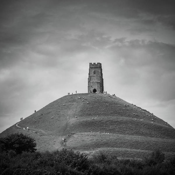 St Michaels Church Photograph - Tor by Chris Dale