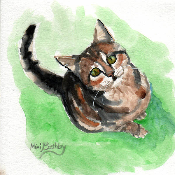 Painting - Torbie 2 by Mimi Boothby