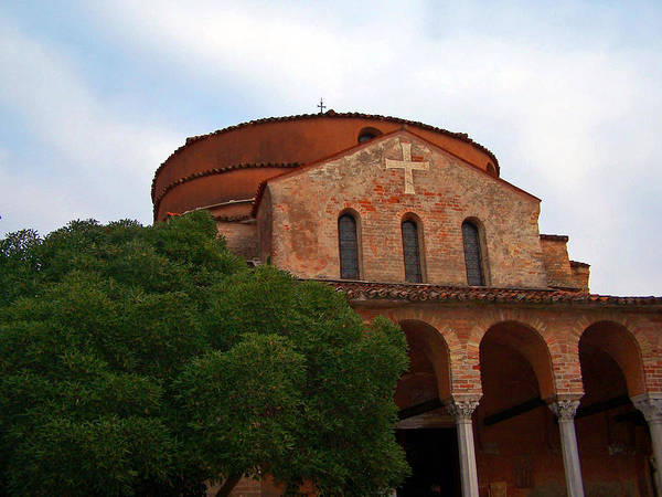 Photograph - Torcello Cathedral by Jennifer Robin