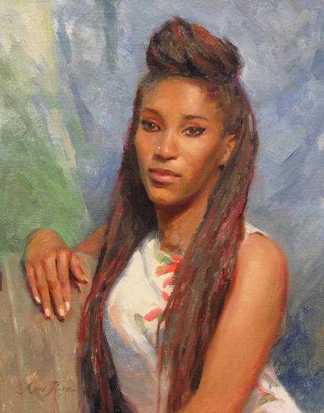 Beautiful Painting - Tori by Anna Rose Bain