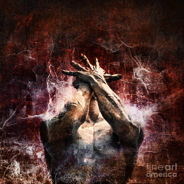 Damaged Photograph - Torment by Andrew Paranavitana