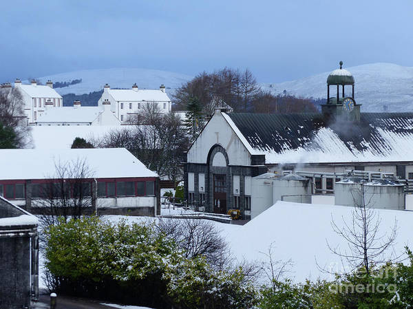 Photograph - Tormore Distillery And Houses by Phil Banks