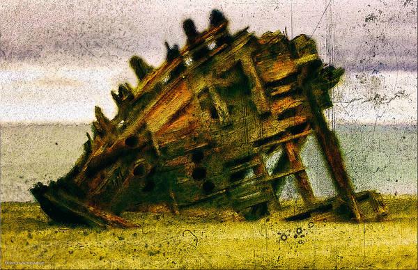 Digital Art - Torn Asunder by Chuck Mountain