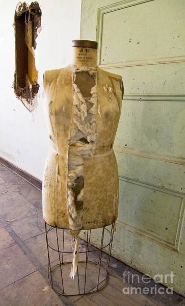Preston Castle Photograph - Torn Dress Form by Norman Andrus