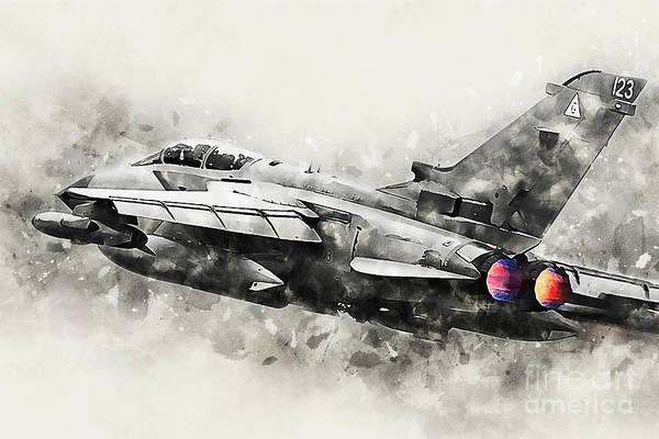 Tornado Digital Art - Tornado Gr4 - Painting by J Biggadike