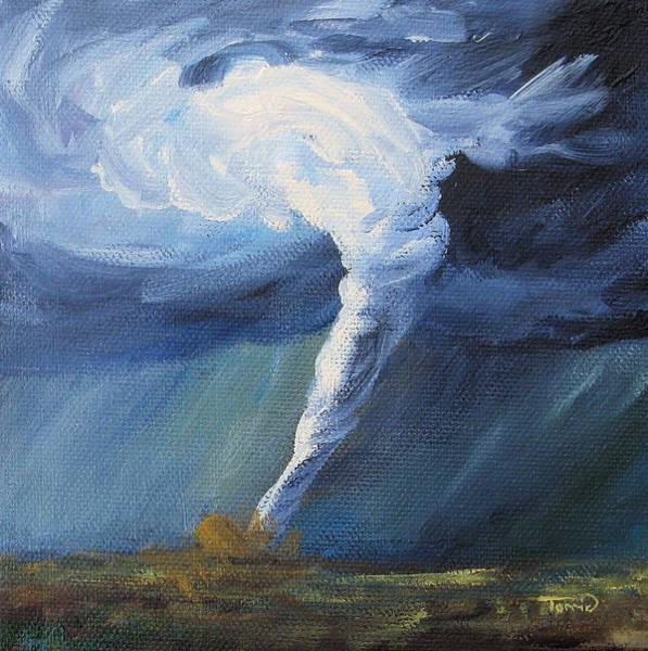 Wall Art - Painting - Tornado II by Torrie Smiley