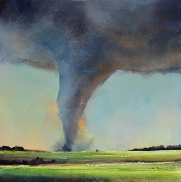 Wall Art - Painting - Tornado Touchdown by Toni Grote