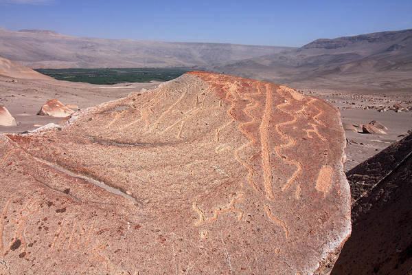 Photograph - Toro Muerto Petroglyph 01 by Aidan Moran