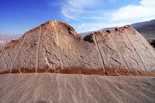 Photograph - Toro Muerto Petroglyph 14 by Aidan Moran