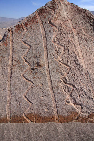 Photograph - Toro Muerto Petroglyph 15 by Aidan Moran
