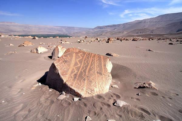 Photograph - Toro Muerto Petroglyph 18 by Aidan Moran