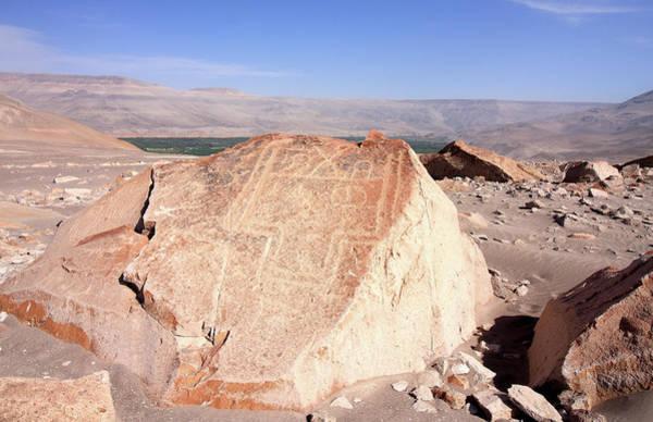 Photograph - Toro Muerto Petroglyph 24 by Aidan Moran