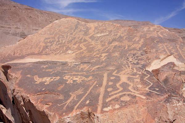 Photograph - Toro Muerto Petroglyph 31 by Aidan Moran