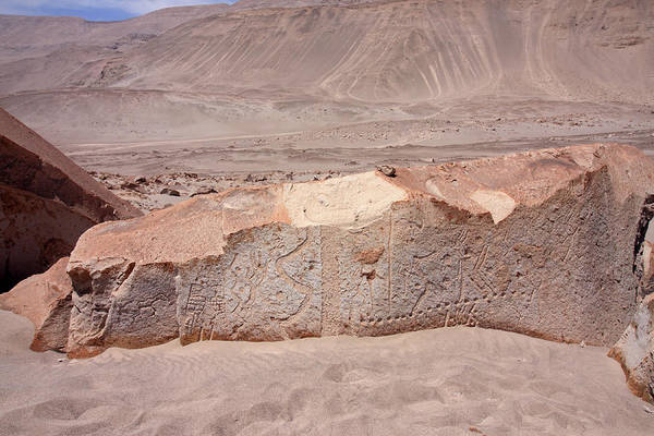 Photograph - Toro Muerto Petroglyph 34 by Aidan Moran
