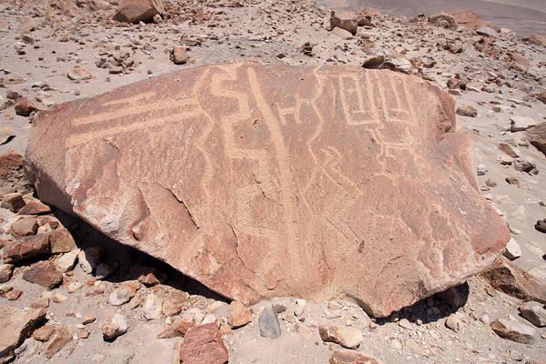Photograph - Toro Muerto Petroglyph 47 by Aidan Moran