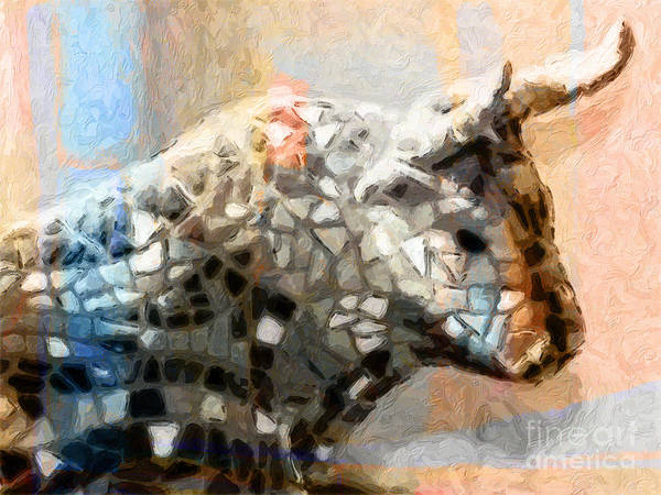 Painting - Toro Taurus Bull by Lutz Baar