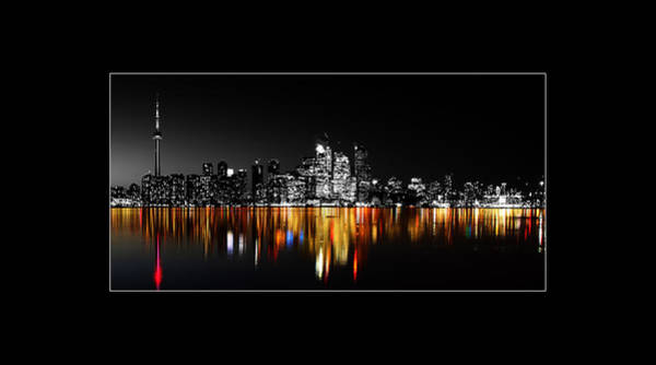 Photograph - Toronto After Dark 2 by Andrew Fare