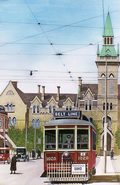 Painting - Toronto Belt Line by Kenneth M Kirsch
