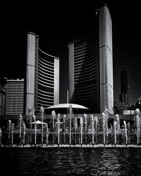 Photograph - Toronto City Hall No 25 by Brian Carson