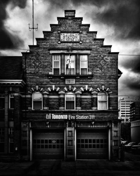 Photograph - Toronto Fire Station No 311 by Brian Carson