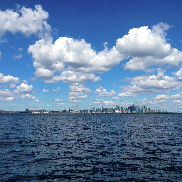 Photograph - Toronto From The Water by Mikael Sandblom